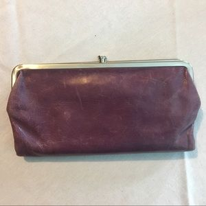 HOBO Lauren wallet in purple